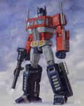 Optimus Prime full body