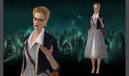 Sofia Lamb -  Bioshock 2 for XNALara by XNAShane
