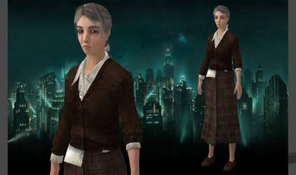 Dr. Brigid Tenenbaum -Bioshock 2 for XNALara by XNAShane