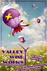 Commission: Valley Wind Works by spazzbot