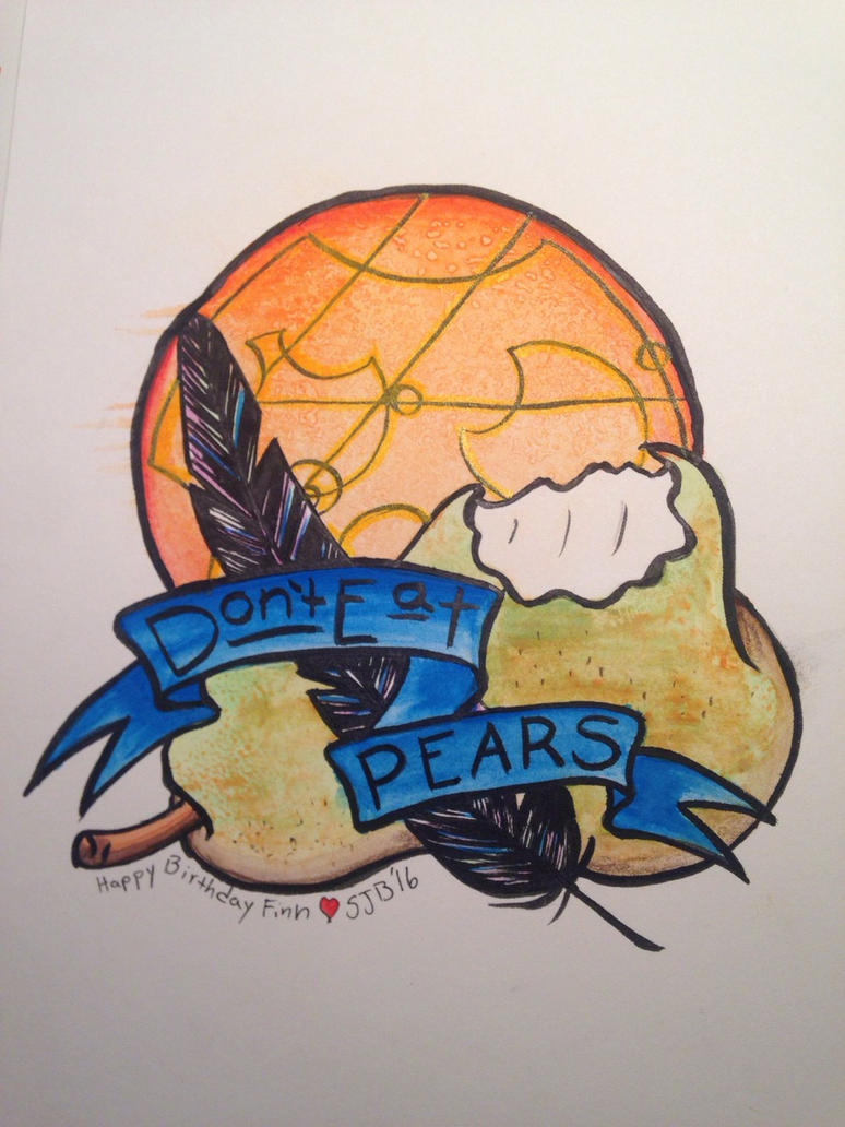 Don't Eat Pears by spazzbot