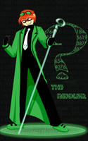 Edward Nygma is The Riddler by spazzbot