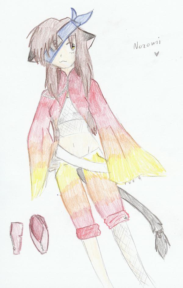 Nozomi by raspberry-wings