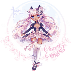 Auction - Crescent Cherub [closed] - AB added