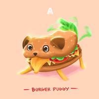 burger Puggy by AlvinGasga