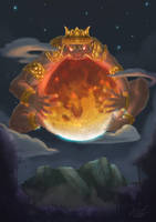 Rajo : The Giant Moon-Eater by AlvinGasga