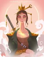 Kimiko The Empress (Fan Art) by AlvinGasga
