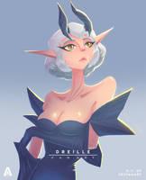 Dreille (Fan Art) by AlvinGasga