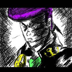 Josuke (In my Style) by Yusuke99