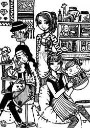 Black Mannequin ad no. 1 by loenahimawariko