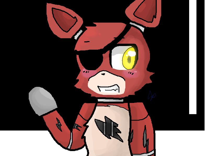 Fnaf foxy chibi fnaf foxy by jordanoxx