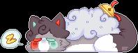 [YCH] kittynightcore by Jordie-bun