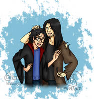 Harry and Sirius by nessaaa95