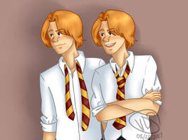 Must be a Weasley by nessaaa95