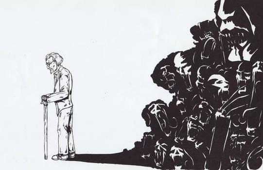 The Strain - Abraham Inked