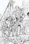 Gears of War - COG - Ink by TheEndofOurLives
