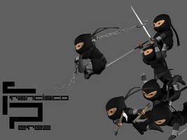 Ninja Attack by DemonMonkey666