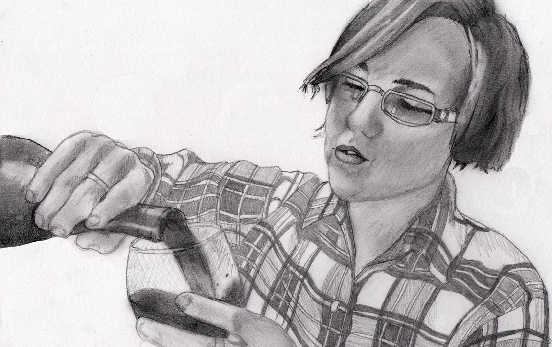 Hannah Hart - My Drunk Kitchen by GogglesOfEscape on DeviantArt