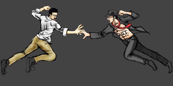 Nerd vs Critic by MoChY