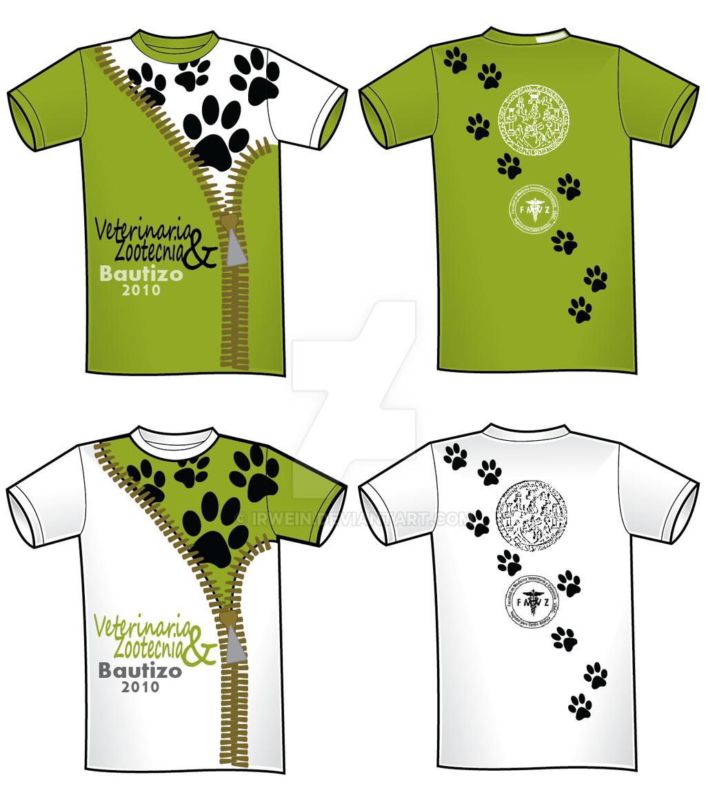 Tee Shirt Design Template Illustrator
