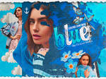 +Blue//Lily Collins