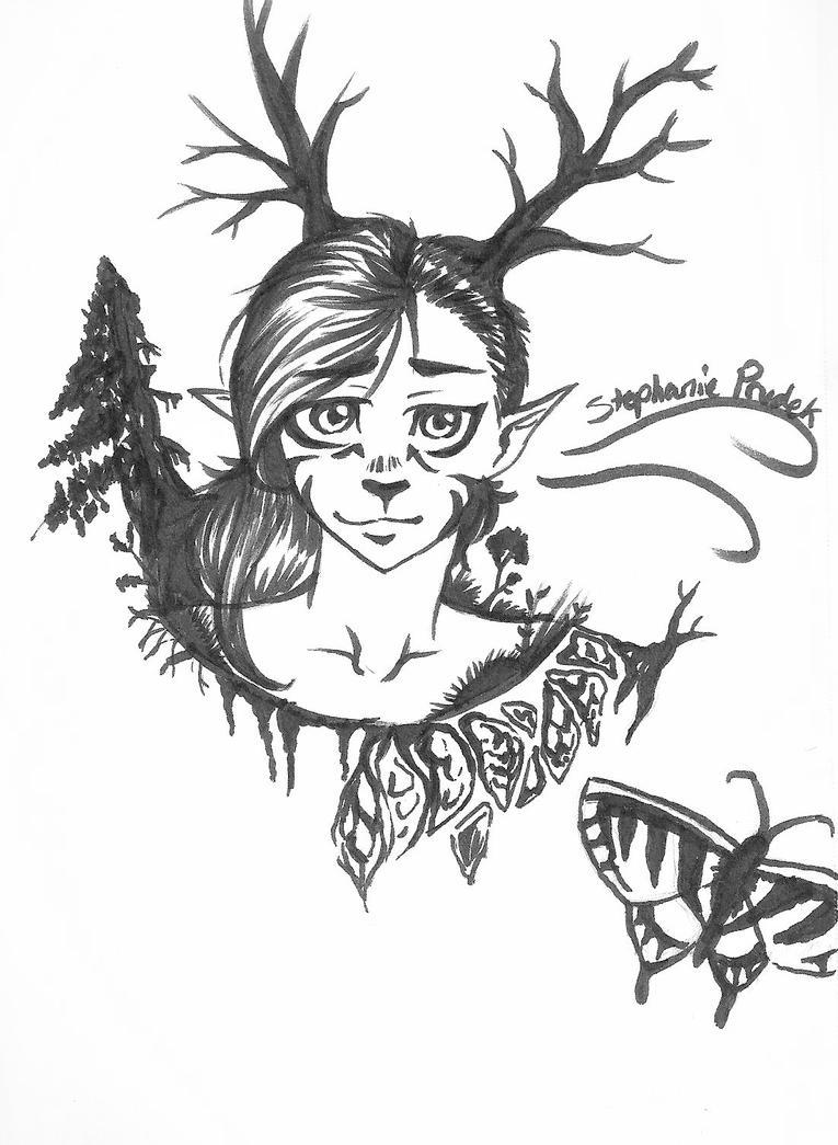 Spirit of the Forest by TsumuraHikari