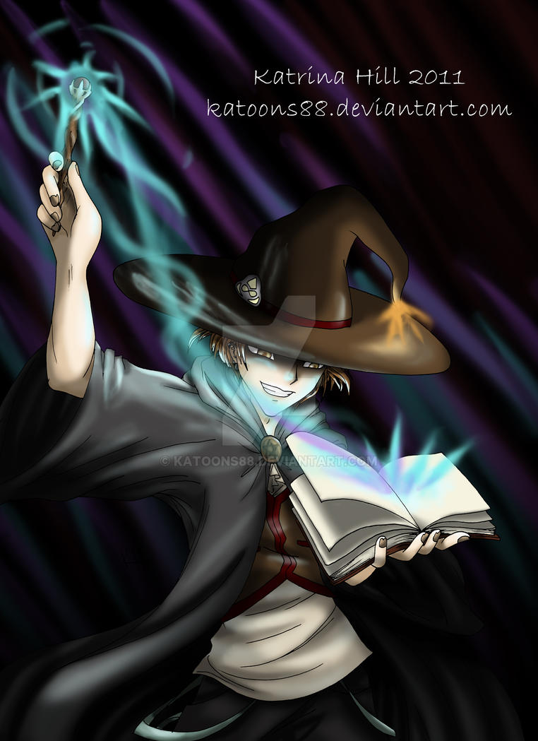 Commission Male Witch Book By Katoons88 On Deviantart