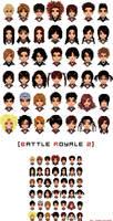 battle royale 2 - pixel