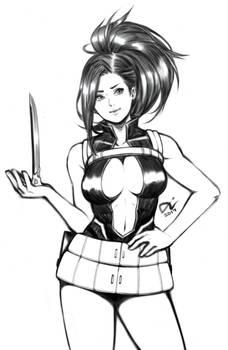 boku no hero academia : momo yaoyorozu