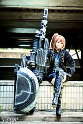 Female Protagonist God Eater 2 Blood Unit