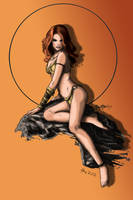 Jungle Girl__ Color by Inlandho