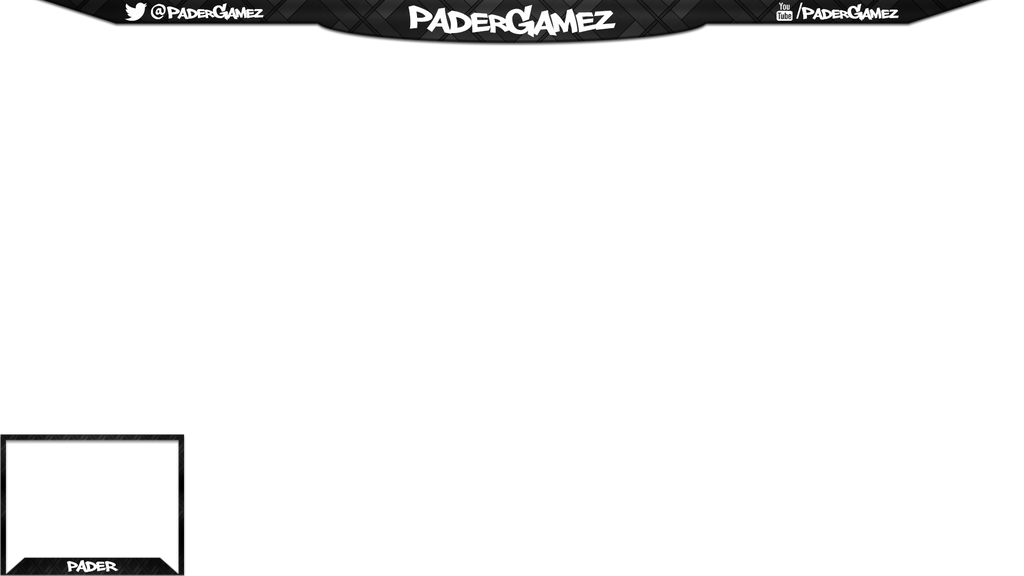 Padergamez twitch overlay by krymepays on deviantart for Free twitch overlay template