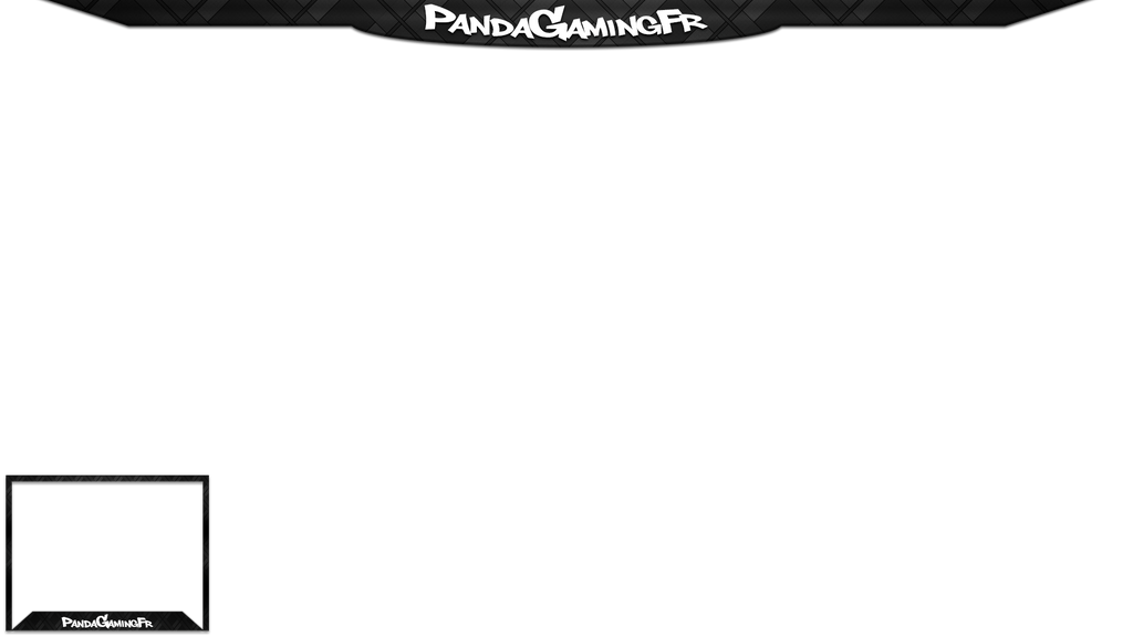 Twitch overlay pandagamingfr by krymepays on deviantart for Twitch layout template