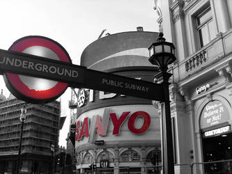 London - Circus of Monochromy by Psycho-Poetry