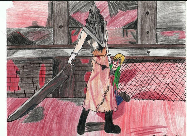 Pyramid Head by Teamyx