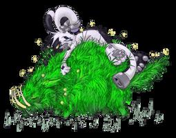 Grass Pig by OnionKnight