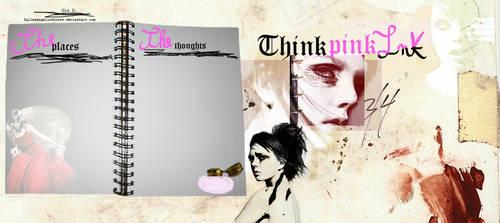 Pink ink by FallenAngelInThorns