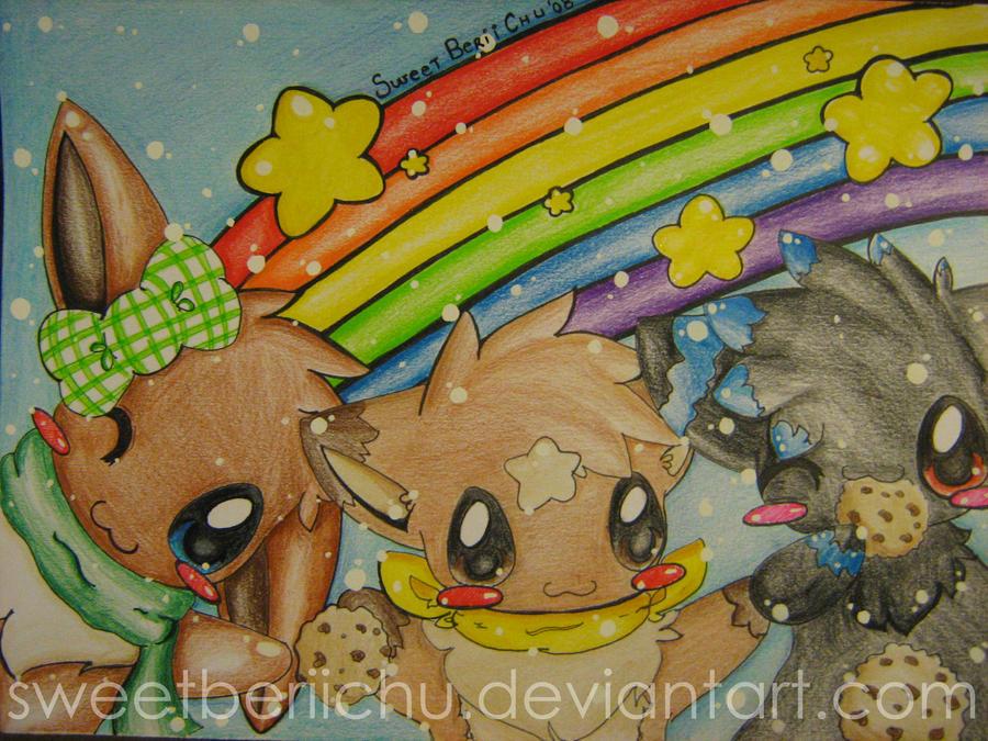 ::.A Rainbow-ish world.:: by SweetBeriiChu