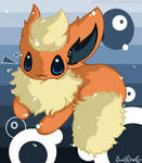 I BE FLAREON: FLUFFYHURR