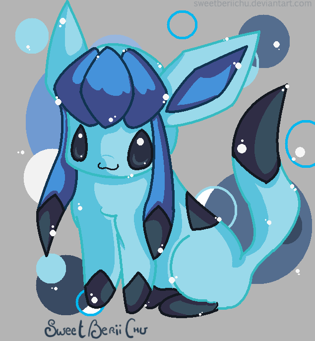 I BE A GLACEON: PYURUU by SweetBeriiChu