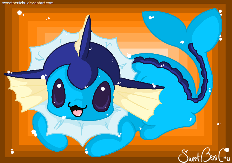 I BE A VAPOREON: SPLASHYVAPPY by SweetBeriiChu