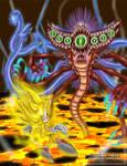 Super Sonic VS P. Dark Gaia