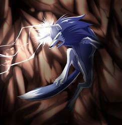 Lightning attack! by howlzapper