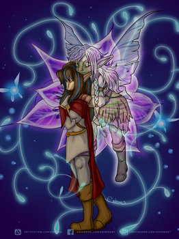 Dark cristal. Deet and Rian