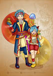 Erik and Mia - Dragon quest 11