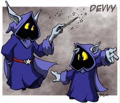 Devvy--Mascot Entry by trollanhq