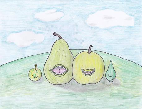 Biting Pears