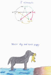 Chinese Zodiac Water and Earth Dogs