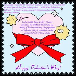 Valentine's Day Origin Card