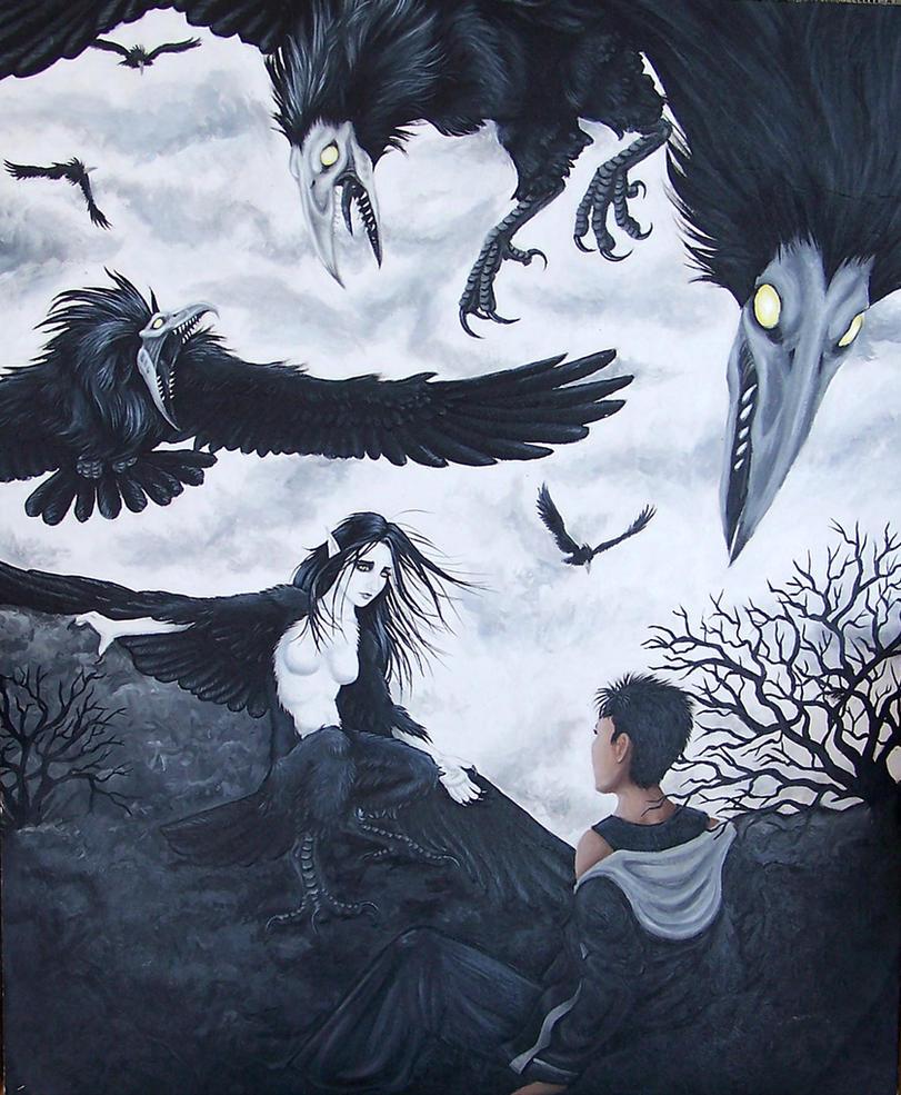 ~~Bestário~~ Symphony_of_the_Harpy_by_nyanamia